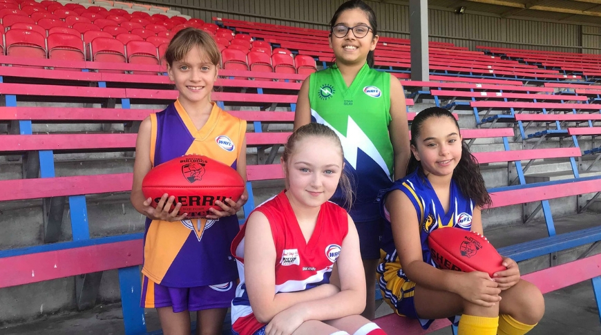 Truganina Thunder Joins the WRFL Under 10 Girls Competition